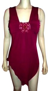 Frederick's of Hollywood Fredericks Top FUSCIA