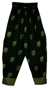 Christina Fairbanks Chinese Coin Baggy Pants Black