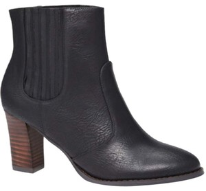 Victoria's Secret Bootie Vs Leather Classic Black Boots