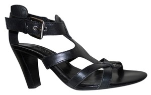 Franco Sarto Leather Studded black Sandals