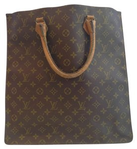 Louis Vuitton French Company Tote in Brown