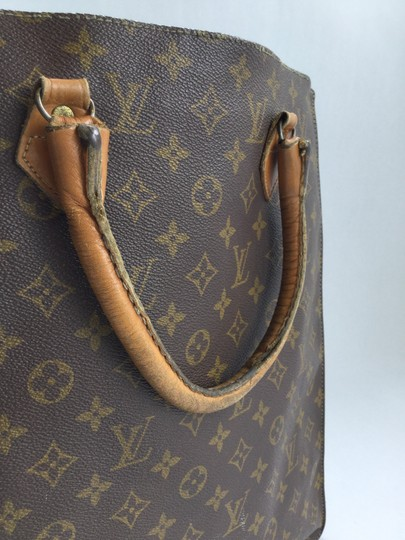 Louis Vuitton French Company Vintage Tote in Brown