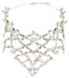 Swarovski Swarovski Molly Bib Crystal Pearl Necklace