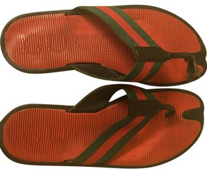 Gucci Green/red Sandals