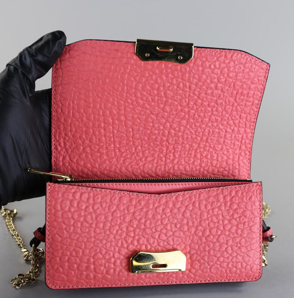 93c263a3e0f Burberry Grained Rose Pink Leather Cross Body Bag 26% off retail