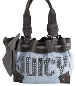 Juicy Couture Tote in Blue/Black