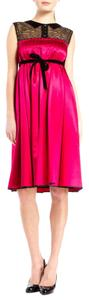 Marc Jacobs short dress Hot Pink Babydoll Lace on Tradesy