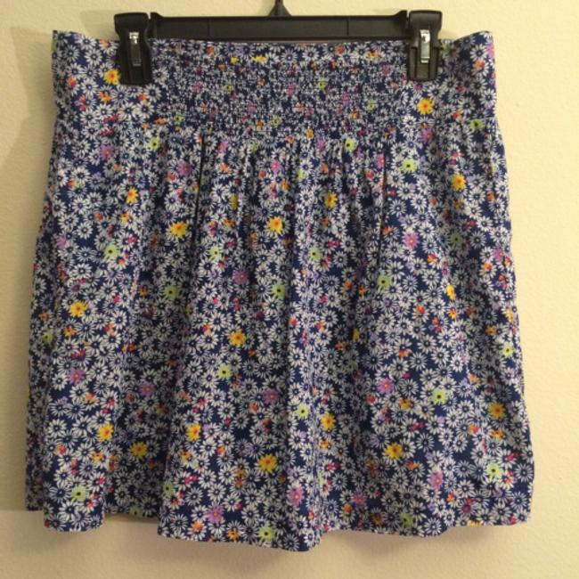 Old Navy Size M Floral Skirt- 100% Cotton Mini Skirt