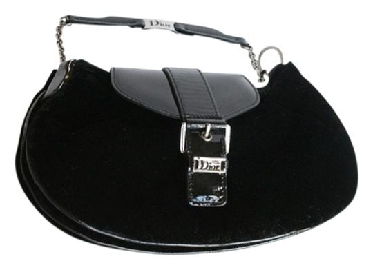 Preload https://img-static.tradesy.com/item/8256382/dior-christian-small-dressy-purse-with-patent-leather-black-suede-wristlet-0-1-540-540.jpg