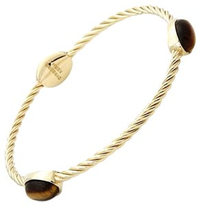 Dyrberg/Kern Dyrberg/Kern Tiger Eye Bangle Bracelet Small