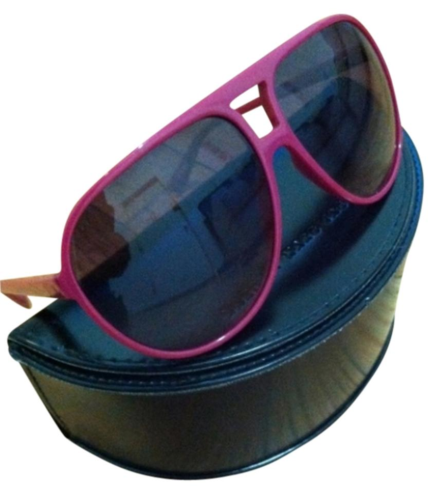 e6d2653776f9 Marc by Marc Jacobs Pink Aviator Sunglasses - Tradesy