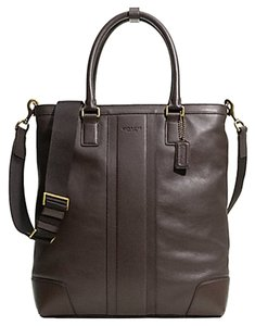 Coach F71170 Tote in BRASS/MAHOGANY