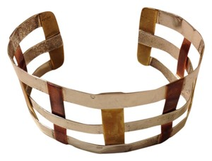 Robert Lee Morris Robert Lee Morris Sterling Silver/Brass/Copper Weave Cuff