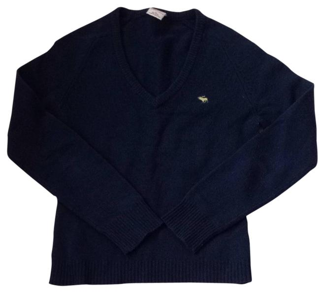 Preload https://item3.tradesy.com/images/abercrombie-and-fitch-navy-blue-sweater-826092-0-0.jpg?width=400&height=650