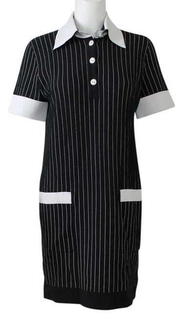 Preload https://img-static.tradesy.com/item/8261827/chanel-black-and-white-pinstriped-cotton-nylon-collared-above-knee-short-casual-dress-size-8-m-0-2-650-650.jpg