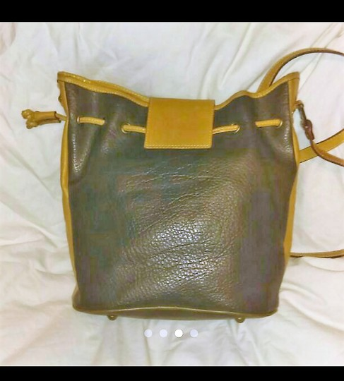 Other Vintage Leather Brass Cross Body Bag