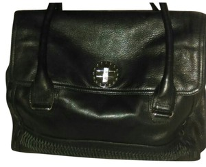 Audrey Brooke Leather Shoulder Bag