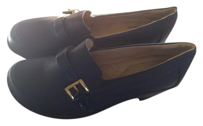 Item - Navy Mules/Slides Size US 11 Extra Wide (Ww, Ee)