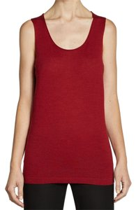 Eileen Fisher Top Crimson Red