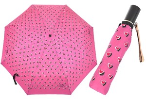 Coach COACH HEART PRINT UMBRELLA F63242 NEW WITH TAG