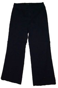 Calvin Klein Size 10 Straight Pants black