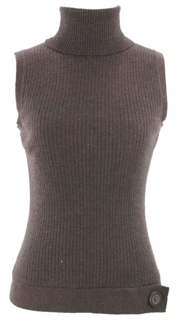 Preload https://img-static.tradesy.com/item/8264629/kenneth-cole-brown-new-wool-sleeveless-s-sweaterpullover-size-6-s-0-2-650-650.jpg