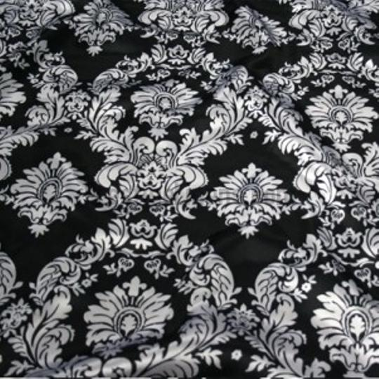 Black Damask Table Runners