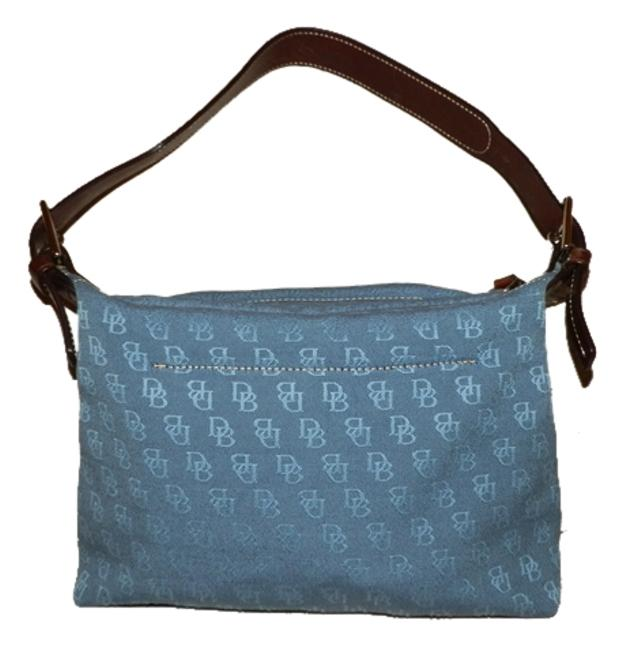 Item - Blue Canvas Shoulder Bag
