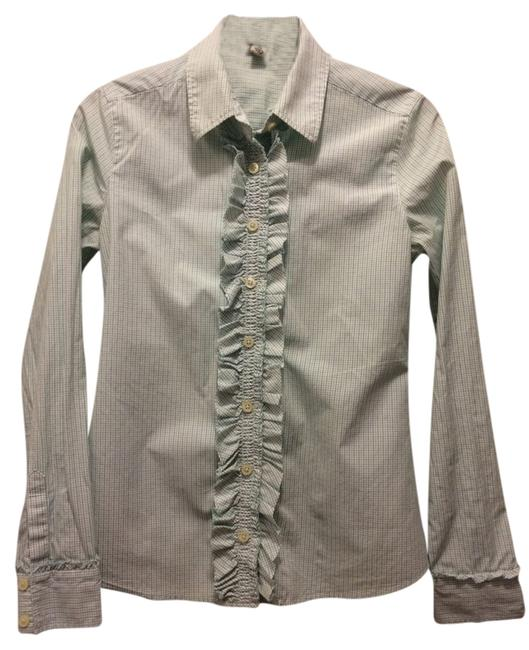 Banana Republic Button Down Shirt Green