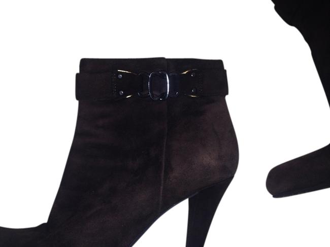 Enzo Angiolini Brown Suede Lavaried Boots/Booties Size US 8 Enzo Angiolini Brown Suede Lavaried Boots/Booties Size US 8 Image 1