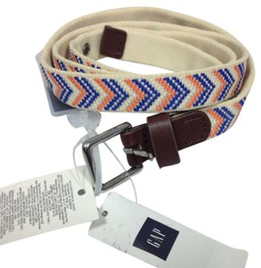 Gap Canvas Braided belt sz S