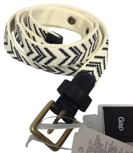 Gap Canvas Braided belt sz XS