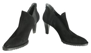Gianfranco Ferre Black Suede Boots