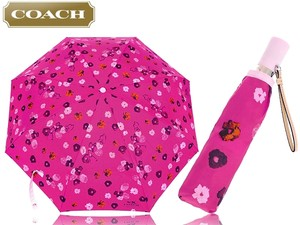 Coach Coach F63674 Floral Print Umbrella NEW WITH TAG