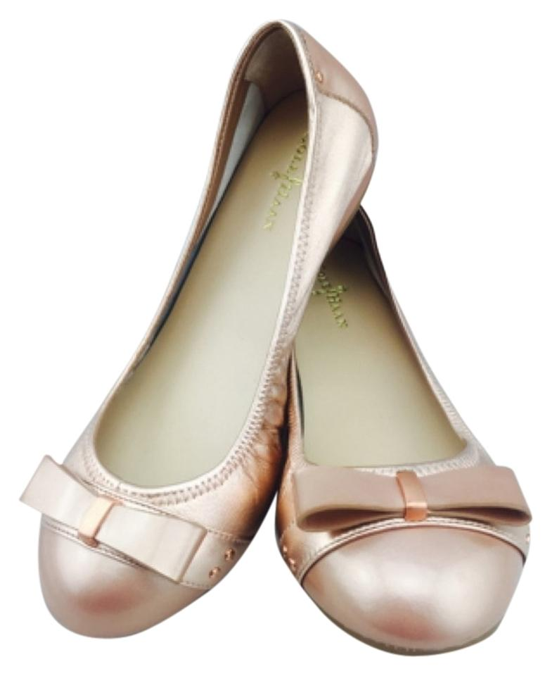 307ad7545f88 Cole Haan Air Metallic Light Pink Ballet New 6.5 Flats Size US 6 ...