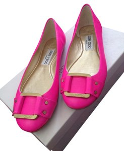 Jimmy Choo Hot Pink Flats