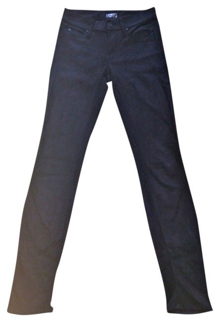 Preload https://img-static.tradesy.com/item/827215/mother-black-faux-suede-coated-the-looker-skinny-jeans-size-24-0-xs-0-0-650-650.jpg