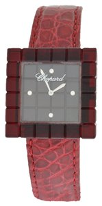 Chopard Chopard Be Mad 12/7780 Red Resin Limited Diamond Quartz Watch