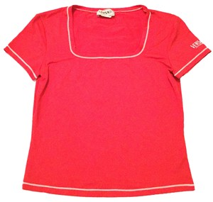 Versace T Shirt Red