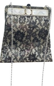 Vintage Lace Mother Of Pearl Shoulder Bag