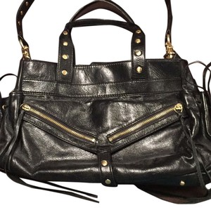 Botkier Leather Satchel in Black