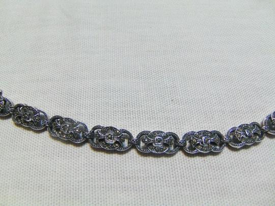 Other Beautiful Sterling Silver Marcasite Bracelet