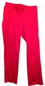 H&M Sateen Cotton Red Capris