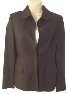 Piazza Sempione Chocolate Brown Blazer