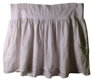 Abercrombie & Fitch Coverup Cover Up Mini Mini Skirt White