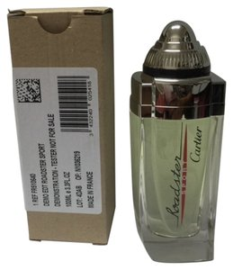 Cartier CARTIER CARTIER CARTIER ROADSTER SPORT by CARTIER 3.3 / 3.4 oz / 100 ml Eau de toilette Spray TESTER IN BOX (FOR MAN )