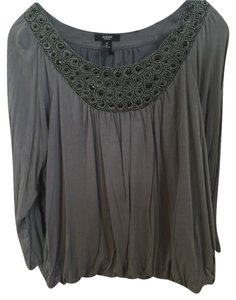 Alfani Top Gray and Black
