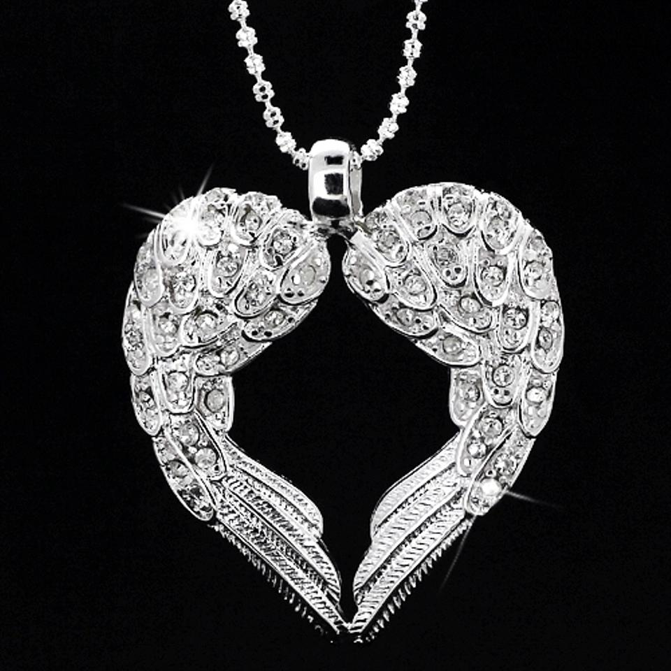 9 2 5 Solid Authetic Angel Wings 925 Sterling Silver