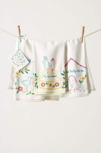 Anthropologie Storybook Romance Towel Set Decorative Objects