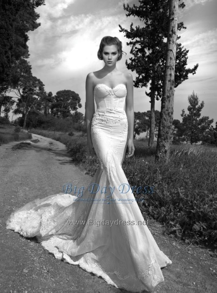 0963f276888 Inbal Dror Ivory Br-13-23 Wedding Dress Size 6 (S) - Tradesy